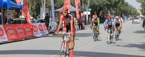 Uluslararasi Konya Torku Mevlana Bisiklet Turu`nun Karaman Etabi Yapildi