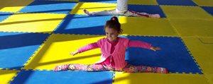 Kazim Karabekir'de Cimnastik Kurslarina Yogun Ilgi
