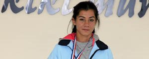 Karamanli Atlet Ümmühan Karaçadir Balkan Biletini Kapti