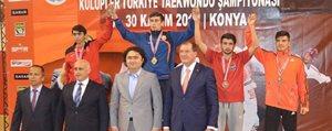 KMÜ Ögrencisinden Türkiye Üçüncülügü
