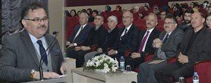 KMÜ'de Edebiyat Ve Ilim Konferansi