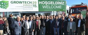 Borsa Üyeleri Growtech Antalya Tarim Fuarinda