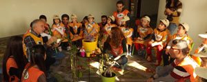 Minik Temacilar Anaokullarina Kis Bahçesi Yapti