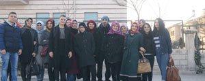Hasta Kabul Kursu Ögrencilerinden Sevgi Evi`ne Anlamli Ziyaret