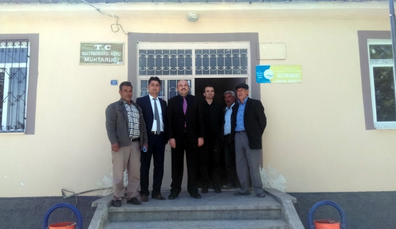 Genç Çiftçileri Destekleme Projesi Bilgilendirme Toplantısı Yapıldı