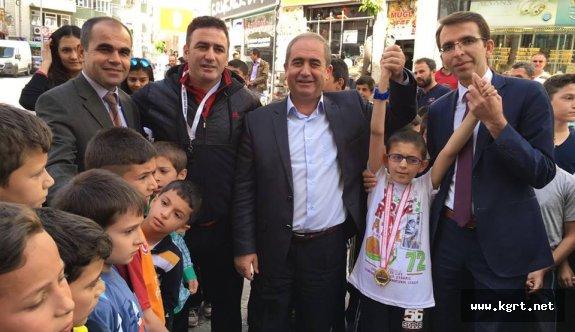 Görme Engelli Öğrenci Festivale Damga Vurdu