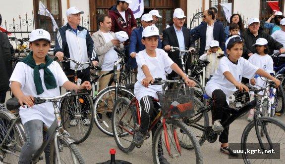 """""""Kentin İçin, Kendin İçin Pedalla"""" Bisiklet Turu Yapıldı"""