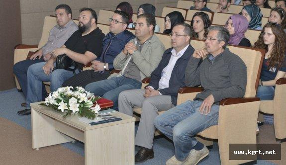 KMÜ'de 'Protein Mühendisliği Uygulamaları' Anlatıldı