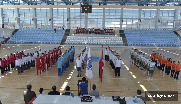 KMÜ'de Üniversiteler Arası Basketbol Müsabakaları Başladı