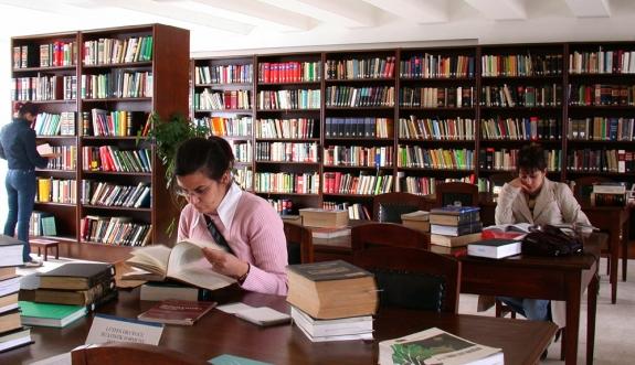 Kütüphane kullanımı konusunda 55. Sıradayız