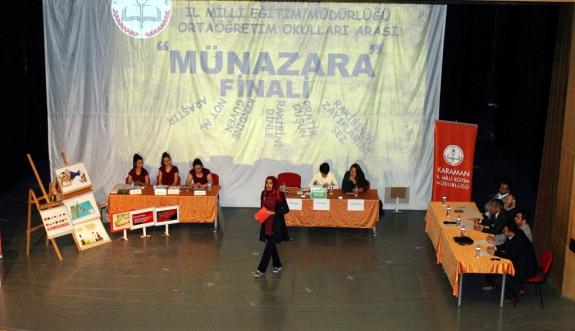 Liseler Arası Münazara Yarışmasının Finali Yapıldı