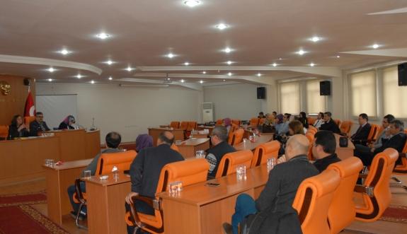 Rehber Öğretmen - Öğrenci İletişiminde İhtiyaç Belirleme Çalıştayı Gerçekleştirildi