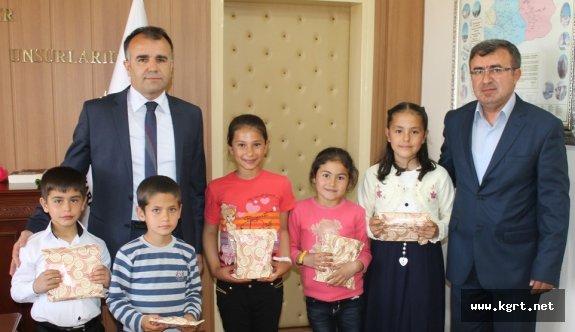 Süleymanhacı İlkokulunun Başarılı Öğrencilerinden Sultanoğlu'na Ziyaret