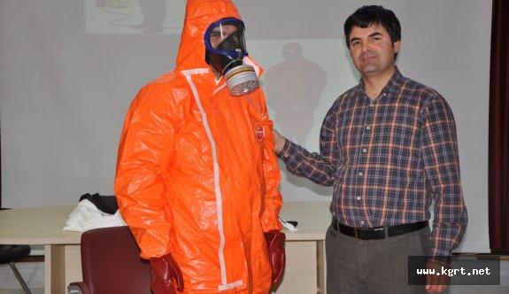 İl Sağlık Müdürlüğünde KBRN Farkındalık Eğitimi Yapıldı