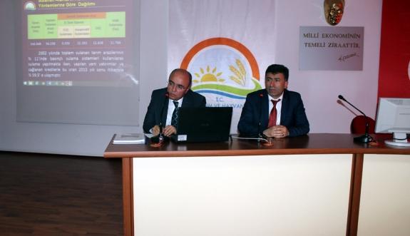 Karaman Tarımsal Kuraklık Eylem Planı Toplantısı Yapıldı