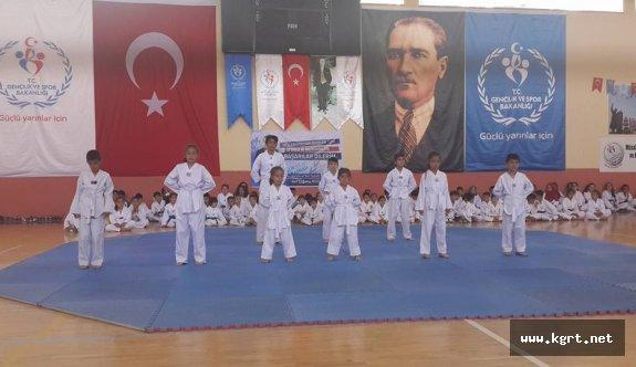 Karaman'da II. Dönem Kuşak Sınavı Yapıldı