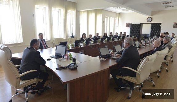 KMÜ'de Daire Başkanları Çalıştayının İkincisi Yapıldı