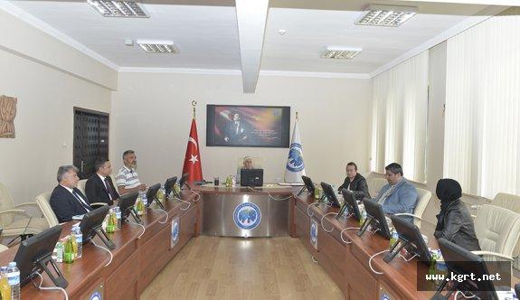 KMÜ'de UNİKOP Engelsiz Üniversite Koordinatörleri Toplantısı Yapıldı