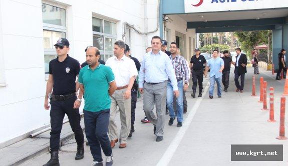 Mersin'deki FETÖ/PDY Zanlıları Adliyeye Sevk Edildi