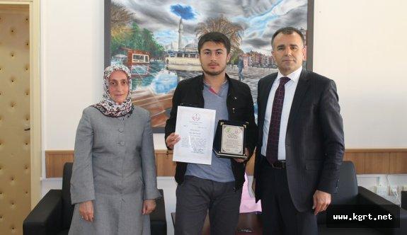 Ödüllü Genç Şairden Sultanoğlu'na Ziyaret