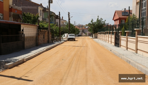 Yol Yapım Çalışmaları Hürriyet Ve Başakşehir Mahallesi'nde