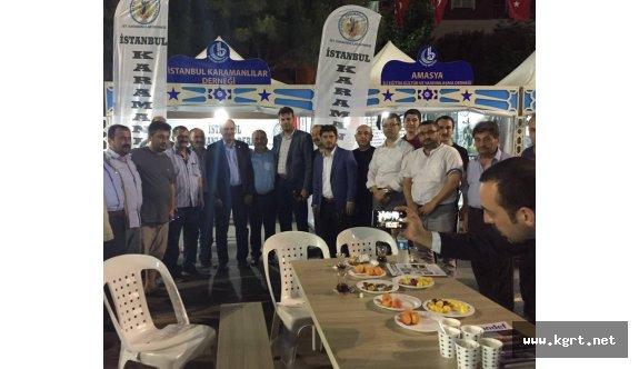 İstanbullular, Karamanlıların Çayını İçmeye Geliyor