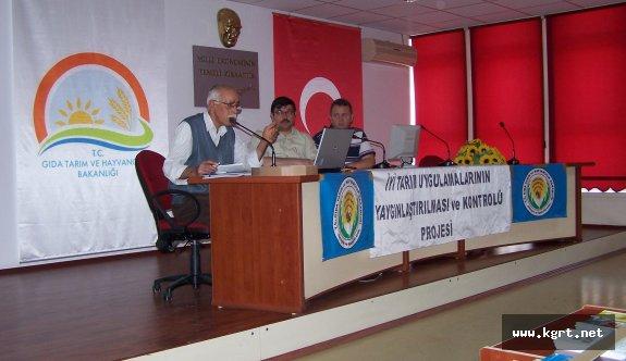 İyi Tarım Uygulamaları, Entegre Kontrollü Ürün Yönetimi Toplantısı Yapıldı