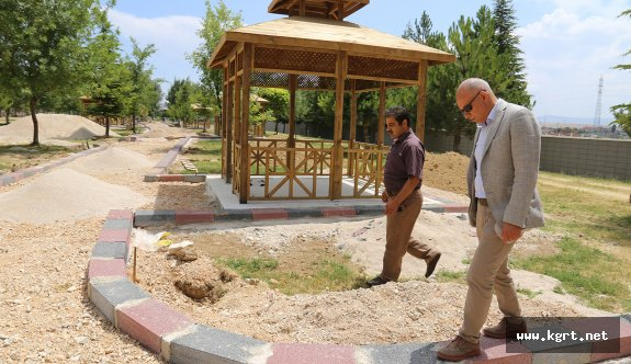Karaman'da Necmettin Erbakan Parkı Genişletiliyor