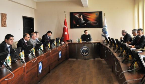 KMÜ'de Unikop Stratejik Planlama Kurul Toplantısı Yapıldı