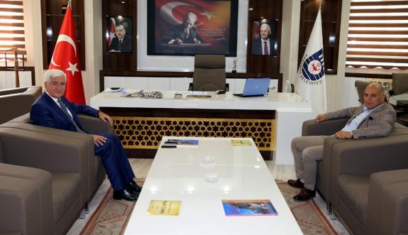 Vali Murat Koca'dan Veda Ziyareti