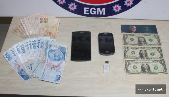 FETÖ/PDY Operasyonları Kapsamında İkametinde Para Saklayan Kişi Tutuklandı