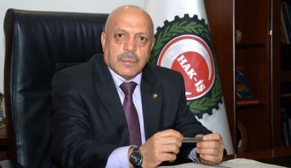 Hak-İş Genel Başkanı Mahmut Arslan Bugün Karaman'da