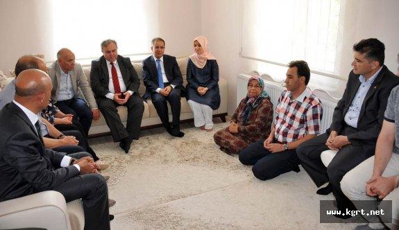 Karaman'da Şehit Ailelerine Bayram Ziyareti
