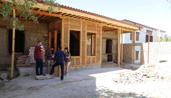 Tartan Evi-2 Projesinde Çalışmalar Başladı