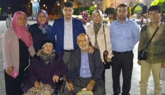 """AK Parti İl Başkanı Nazmi Ünlü: """"7'den 70'e Meydanlardayız"""""""