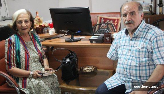 Dün Takvimde Biter Kitabının Yazarı Mezhepoğlu Karaman'daydı