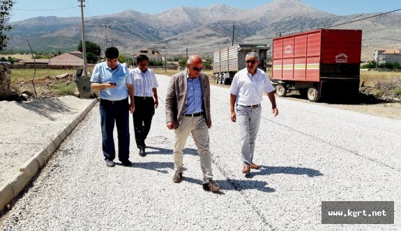 Karaman Belediyesi'nden Kazımkarabekir'e Asfalt Desteği