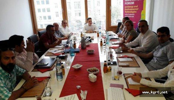 Karaman ESOB TRAQ Projesi Toplantısı İçin Almanya'daydı