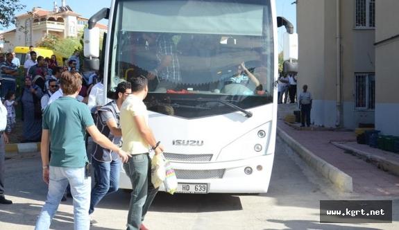 Karaman'da FETÖ operasyonunda gözaltına alınan 22 kişi adliyeye sevk edildi