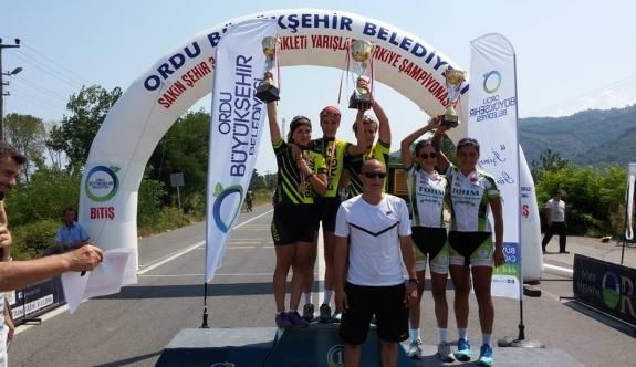 Türkiye Yol Bisikleti Yarışlarında Karaman Farkı