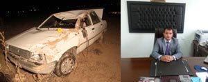 Karamanli Genç Tarim Müdürü Kazada Hayatini Kaybetti