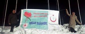 """Tinaztepe'de """"Birakacaginiz En Güzel Miras, Hayatta Iken Yapacaginiz Organ Bagisidir"""" Afisi Asildi"""