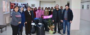 Karaman'da Temiz Sehir Saglikli Nesiller Projesine Okullardan Tam Destek