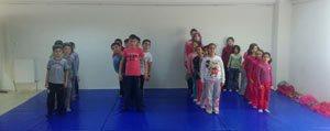 Ayranci'da Judo Egitimleri Basladi