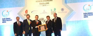Basbakan Davutoglu'ndan Kombassan'a 4 Ödül