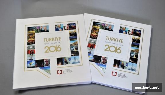 BYEGM'den 4 Dilde Türkiye 2016 Kitabı