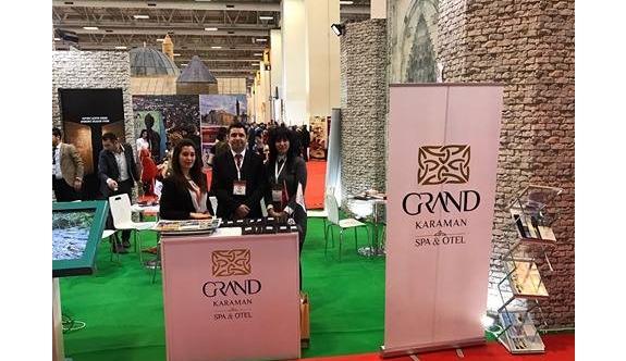 Grand Karaman Otel EMİTT Fuarı'nda Sükse Yaptı