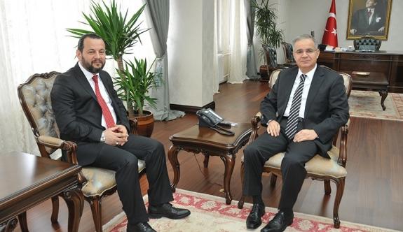 KMÜ Rektörü Akgül'den Vali Tapsız'a Nezaket Ziyareti
