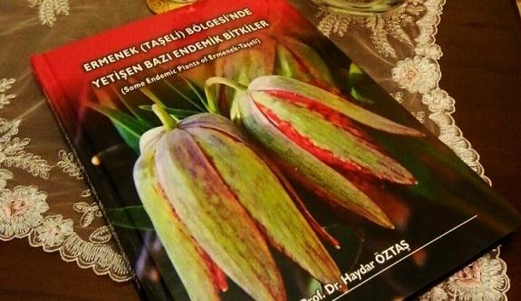 Ermenek Bölgesi'nin Nadide Bitkileri Kitap Oldu