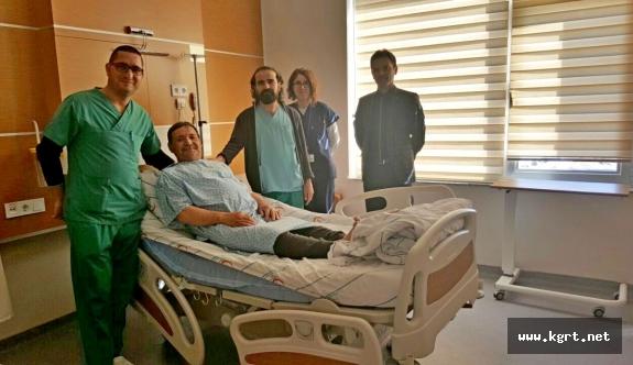 """Ermenek Devlet Hastanesinde Bel Fıtığı Ağrıları """"Ağrı Tedavisi"""" İle Gideriliyor"""